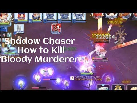 How Shadow Chaser Kill Bloody Murderer, Shadow Chaser MVP/PVE Ragnarok Mobile Eternal Love