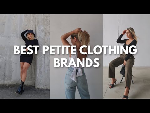 BEST CLOTHING BRANDS FOR PETITES | Clothing Brands for Girls 5ft and Under!