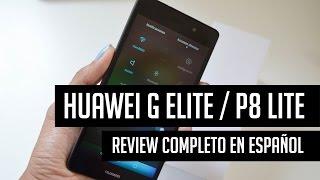 huawei g elite p8 lite review completo en espaol