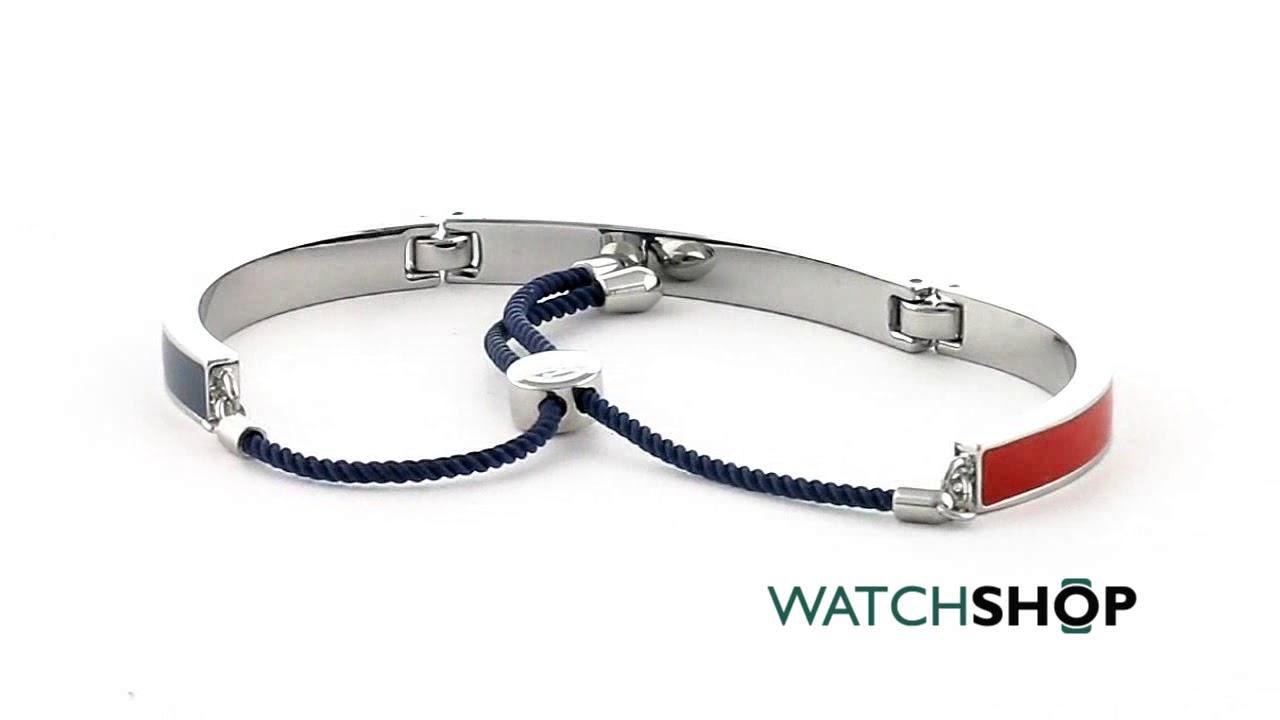 tommy hilfiger jewellery stretch beaded bracelet 2780014 youtube. Black Bedroom Furniture Sets. Home Design Ideas