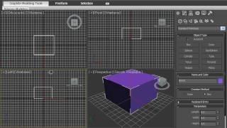 Конфигурация видовых окон в 3DsMax 2010 (2/42)
