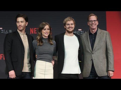 [풀영상] 'Marvel's Iron Fist'(마블 아이언 피스트) Media Conferences (Finn Jones, Jessica Henwick)