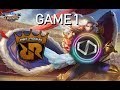 DD PRO G vs RRQ - PHEW THE LANCE GOD - MSC 2018 - MOBILE LEGENDS