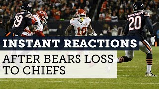 Bears only score 3 points in loss to Kansas City Chiefs | Football Aftershow | NBC Sports Chicago