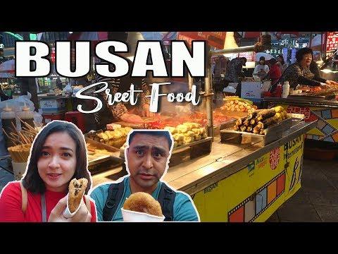 Kuliner Murah Busan Street Food di BIFF Square