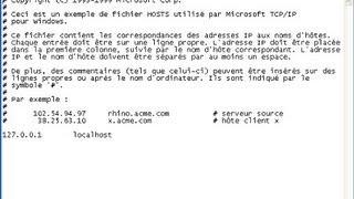 Comment modifier et sauvegarder le fichier host en tant qu'administrateur
