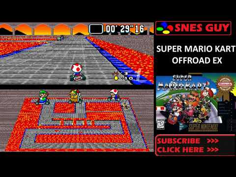 Is Super Mario Kart Offroad EX (SNES) ROM Hack Any Good?