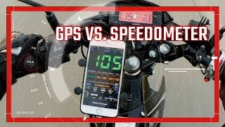 Raider 150 FI Speedometer & GPS Speed Comparison