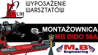 Montażownica do opon ciężarowych MB DIDO 56A (automatyczna)