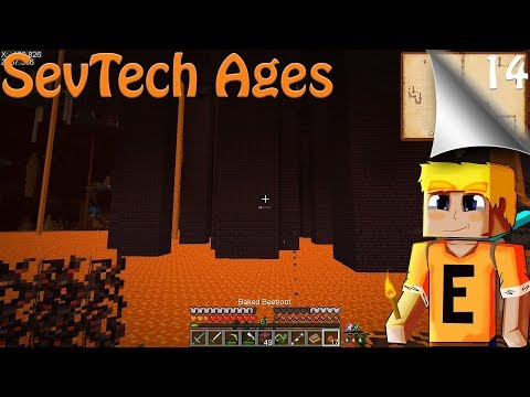 SevTech Ages EP14 - Age 3 and the Nether - YouTube