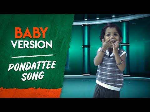Baby Version | Golisoda 2 | Pondattee Song | SD Vijay Milton BharathSeeni Achu | Samishkha Devi Shri