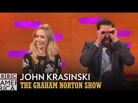 John Krasinski Hit Full Stalker Status With Emily Blunt   The Graham Norton