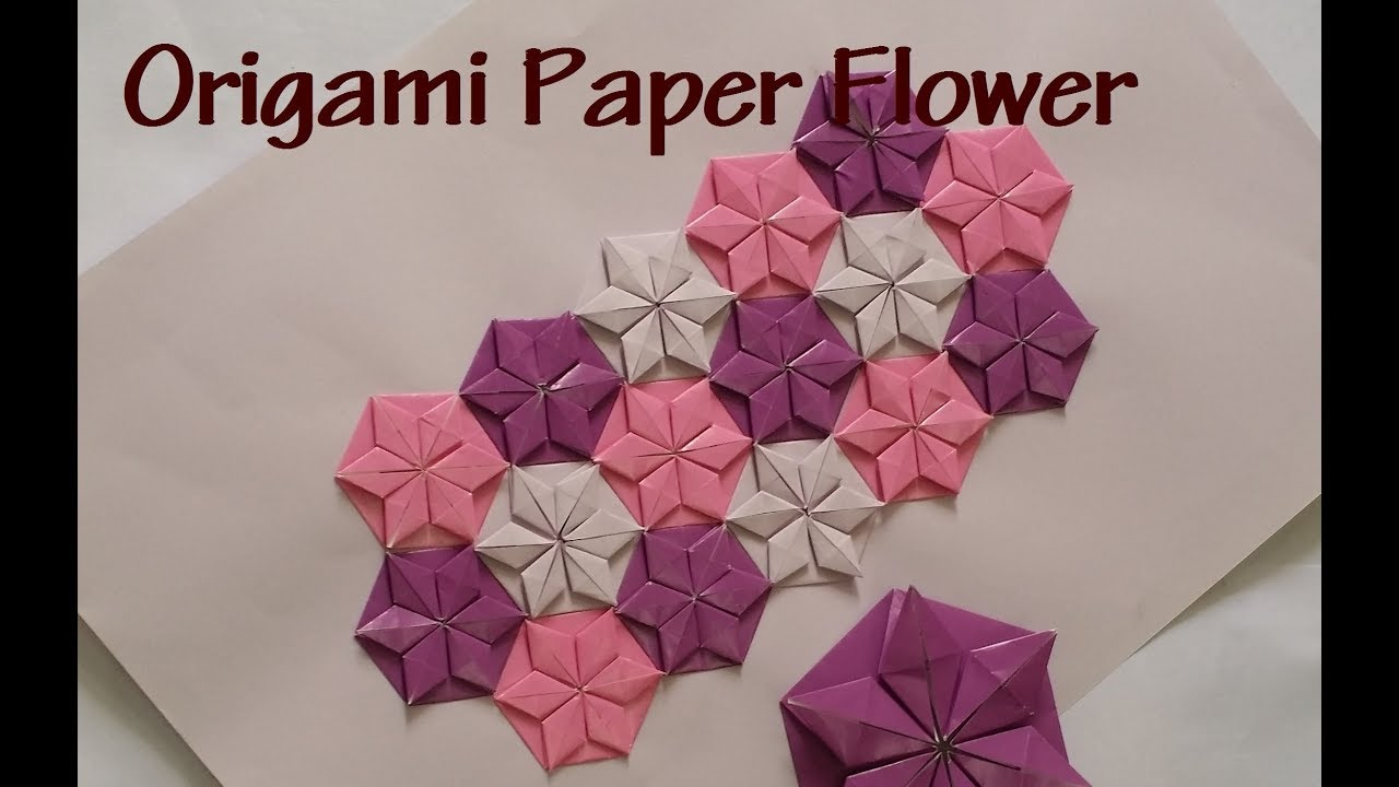 Step by Step Origami Flower Folding Guide | HGTV | 720x1280