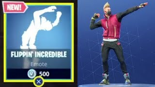 Flippin Incredible *NEW* Emote|Fortnite BR.