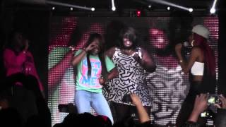 PTAF BOSS ASS BITCH LIVE in POMONA California at 340nightclub June 112th 2014