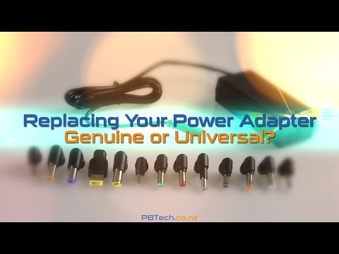Replacing Your Power Adapter, Genuine or Universal?