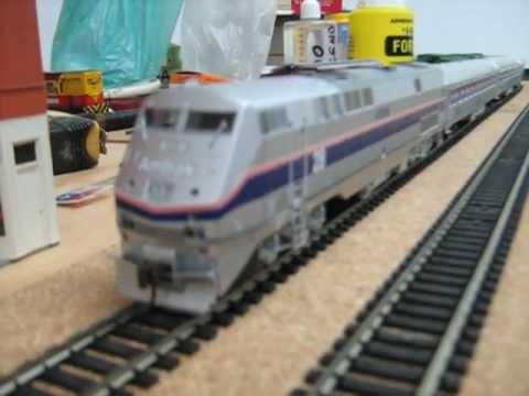 Trenes de Pasajeros Amtrak, Locomotora P42 Marca Athearn y Tren Bala ICE Marca Roco
