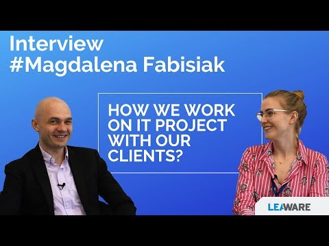 How we work on IT project with our clients? - Interview with Project Manager Magda Fabisiak