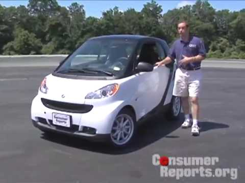 Smart Car Review   Consumer Reports   YouTube