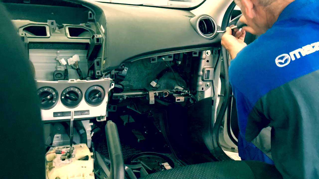 Mazda 3 Service Manual: Front Center Speaker RemovalInstallation