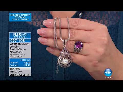 HSN | Designer Gallery: Ottoman Silver Jewelry 02.20.2018 - 05 PM