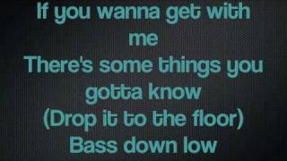 Bass Down Low Dev Ft Cataracs Lyrics