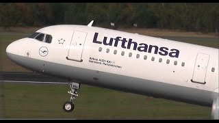 Lufthansa Airbus A321 D-AIRH Garmisch - Partenkirchen very quickly (Time Lapse) takeoff Berlin Tegel