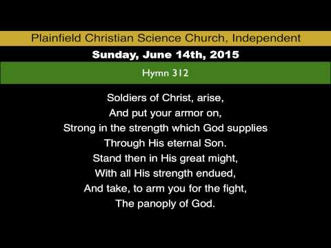 Hymn 312 from Sunday, June 14th, 2015 - YouTube