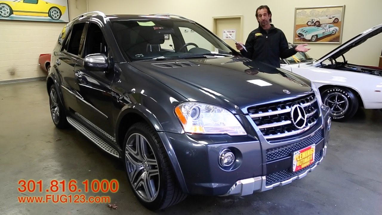 2010 mercedes ml63 amg for sale with test drive driving sounds and walk through video youtube