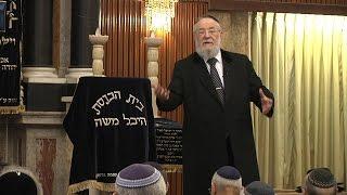 """הרב ישראל-מאיר לאו ד' שבט התשע""""ו Rabbi Israel Meir Lau"""