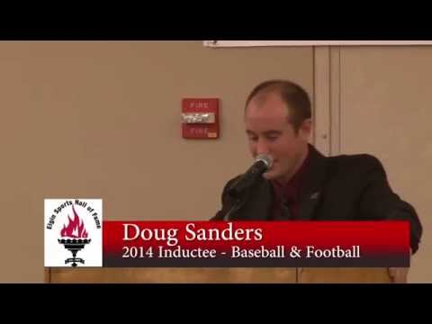 Doug Sanders - Elgin Sports Hall of Fame Induction - 2014