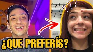 ¿QUE PREFERÍS? ft MICA COPPOLA! *Preguntas imposibles de responder*