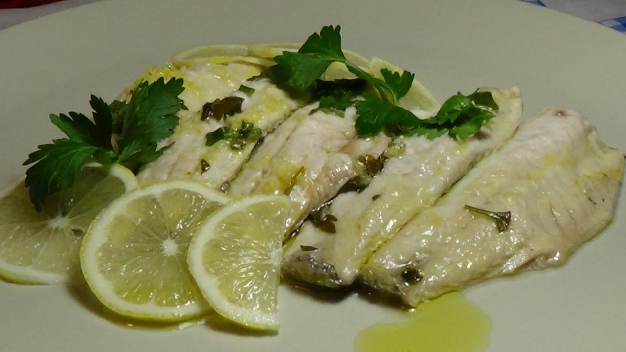 filetti di cefalo al limone......come sfilettare un pesce. - youtube - Come Si Cucina Il Pesce