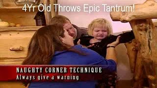 4Yr Old Throws Epic Tantrum Over Nap Time | Supernanny