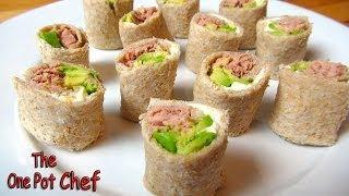 Simple Sandwich Sushi | One Pot Chef