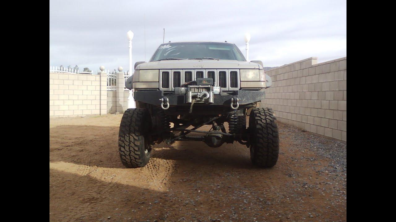 Jeep Grand Cherokee 5 2l V8 Custom Homemade Long Arms