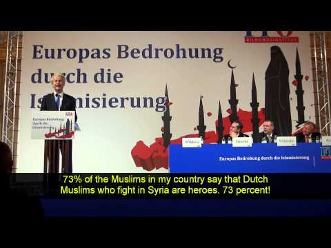 Geert Wilders Vienna March 27 - 2015