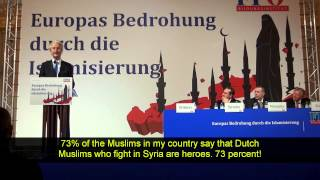 Geert Wilders Vienna March 27 - 2015
