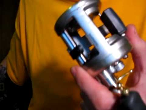 1b14e9555fd SHIMANO CARDIFF 301A BAITCASTING REEL - YouTube