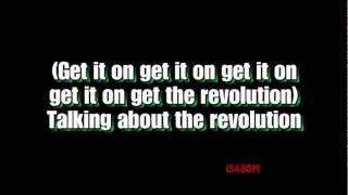 Robbie Williams - Revolution [Lyrics on Screen] (HD Sound)