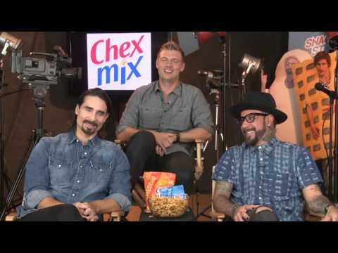 Interview with Backstreet Boys A.J. McLean, Kevin Richardson and Nick Carter