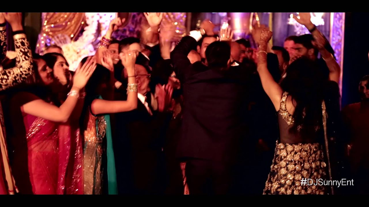 Dj Sunny Entertainment Presents The Dynamic Duo In Chicago Indian Wedding Reception