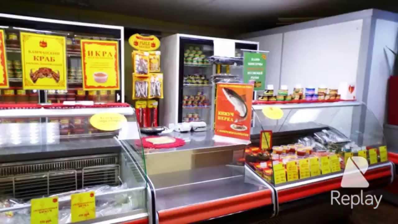 магазин красной икры - YouTube