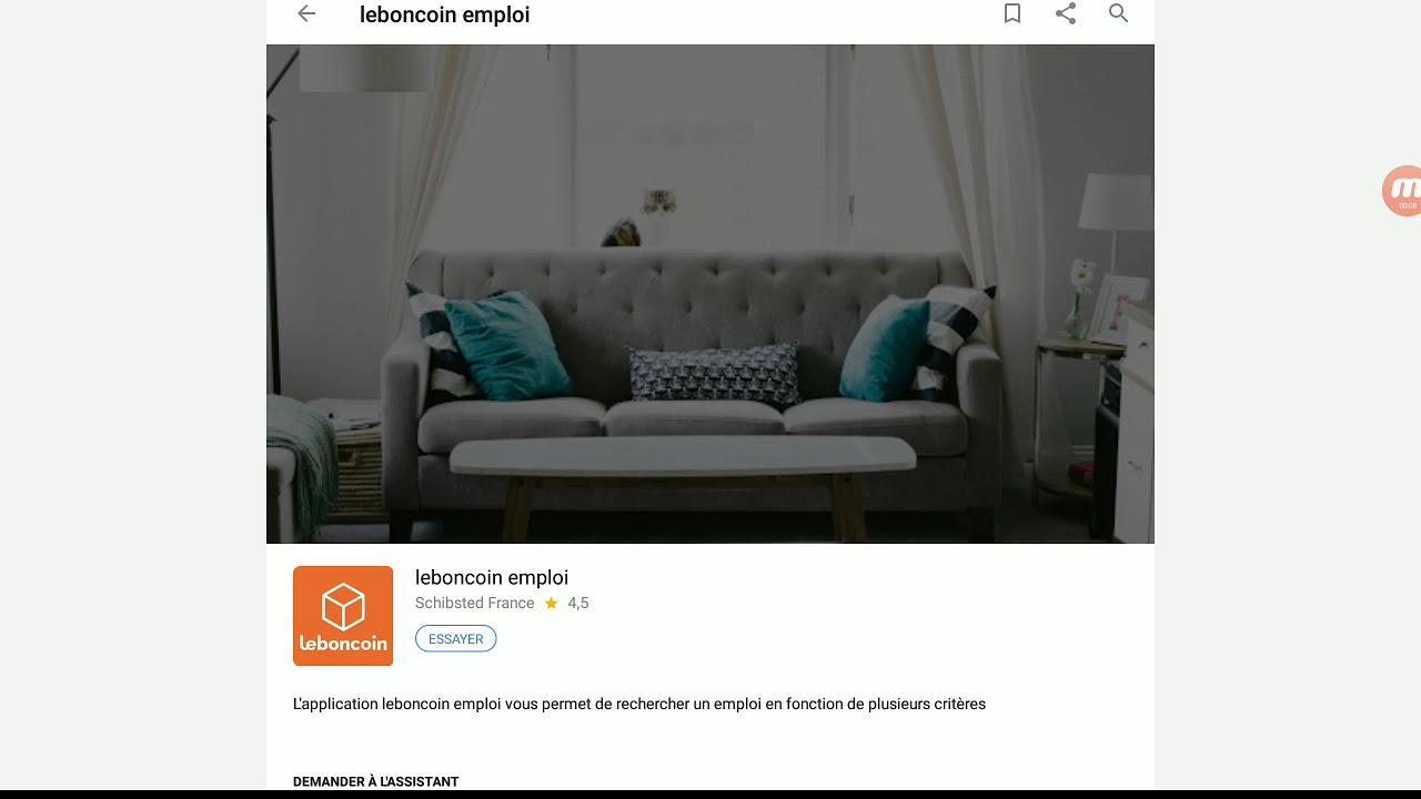 le bon coin emploi sur google home youtube. Black Bedroom Furniture Sets. Home Design Ideas