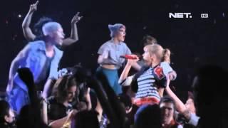 Entertainment News - Taylor Swift berolahraga