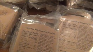 new mre s to try out meals ready to eat great food to store for emergencies