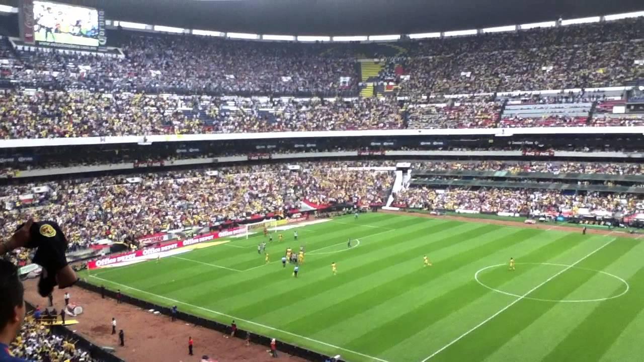 America vs monterrey semifinal vuelta estadio azteca gol for Puerta 1 estadio azteca