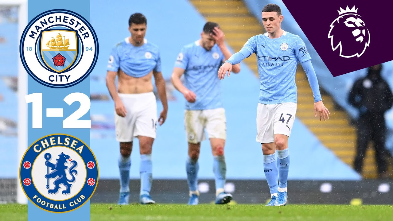 Download HIGHLIGHTS | Man City 1-2 Chelsea, City miss chance to clinch Title.