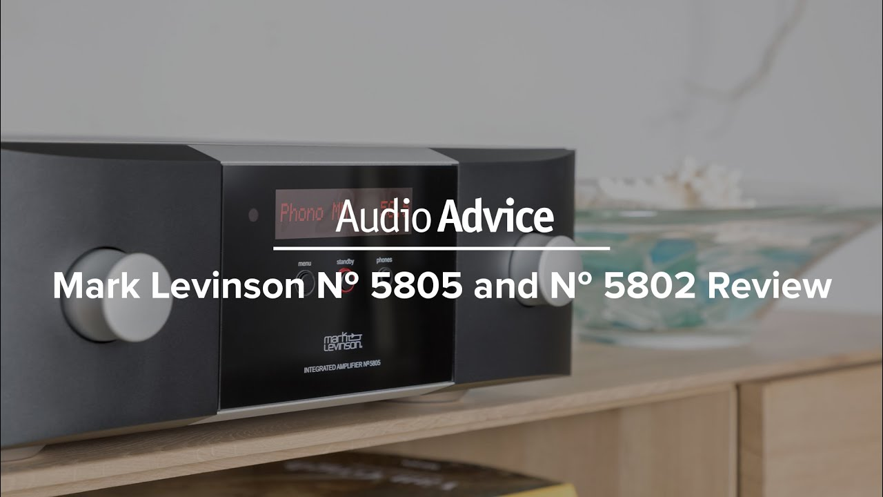 Mark Levinson № 5805 and № 5802 Amplifiers Review