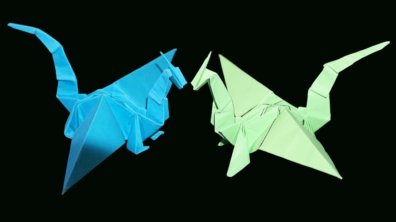 How to Make an Origami DRAGON! - Rob's World - YouTube - photo#4